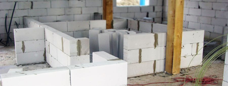 сколько стоит кладка газоблоков за куб